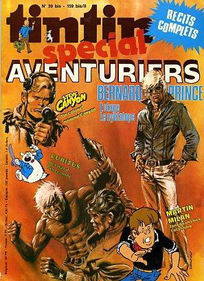 Couverture de (Recueil) Tintin Super -2- Spécial aventuriers