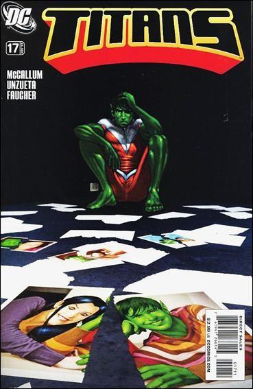 Couverture de Titans (2008) -17- The only constant