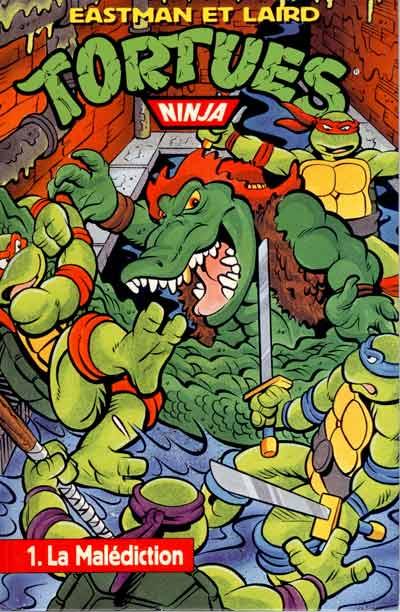 tortues ninja comics usa spcial usa 1 la maldiction - Tortue Ninja