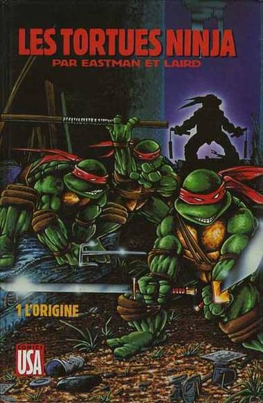 Les tortues ninja comics usa bd informations cotes - Le rat des tortue ninja ...