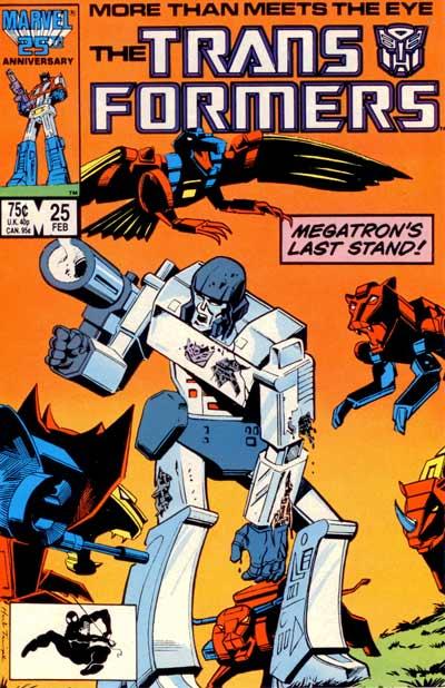 Couverture de Transformers (The) (1984) -25- Megatron's last stand