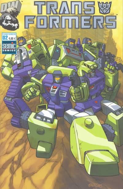 Couverture de Transformers (Semic) -2- Transformers Armada 2