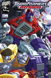 Couverture de Transformers (Semic) -4- Transformers Armada 4