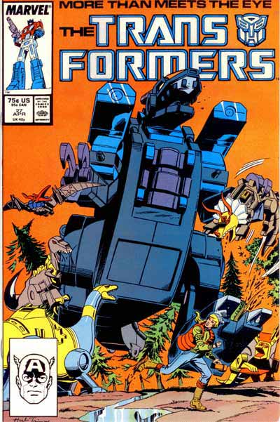 Couverture de Transformers (The) (1984) -27- King of the hill!
