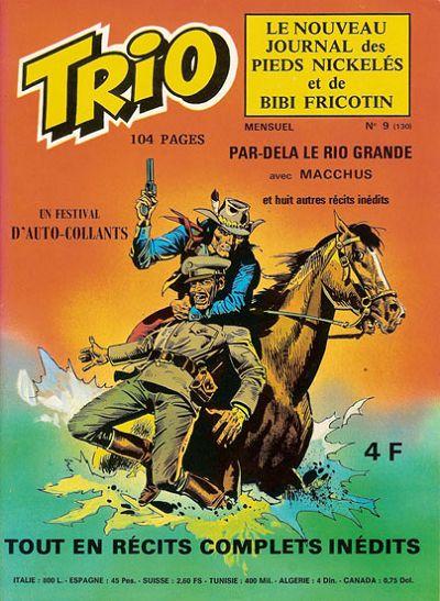 Couverture de Trio - Les Pieds Nickelés Magazine -9- N°9