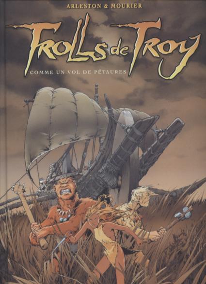 Couverture de Trolls de Troy -INTFL2- Comme un vol de petaures/ Le feu occulte
