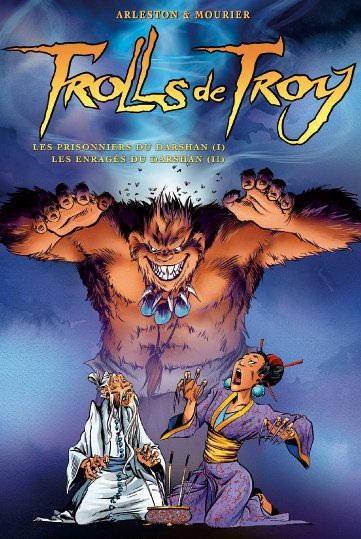 Couverture de Trolls de Troy -INT- L'intégrale du Darshan (I+II)