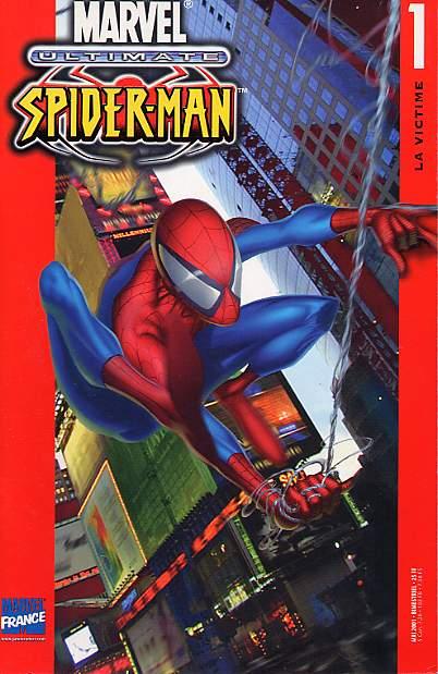 Couverture de Ultimate Spider-Man (1re série) -1- La victime