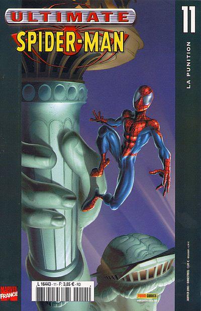 Couverture de Ultimate Spider-Man (1re série) -11- La punition