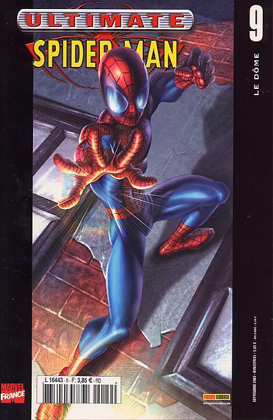 Couverture de Ultimate Spider-Man (1re série) -9- Le dôme