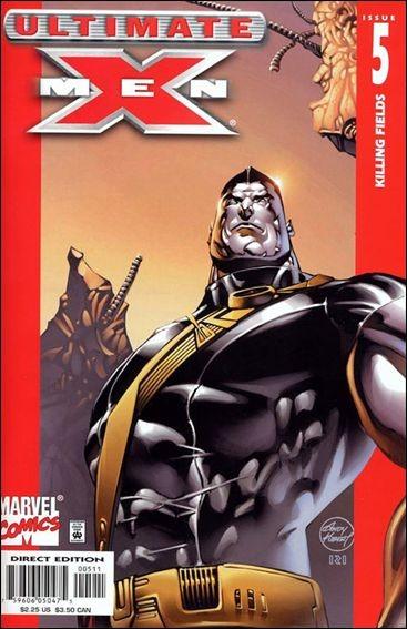 Couverture de Ultimate X-Men (2001) -5- The tomorrow people part 5 : killing fields