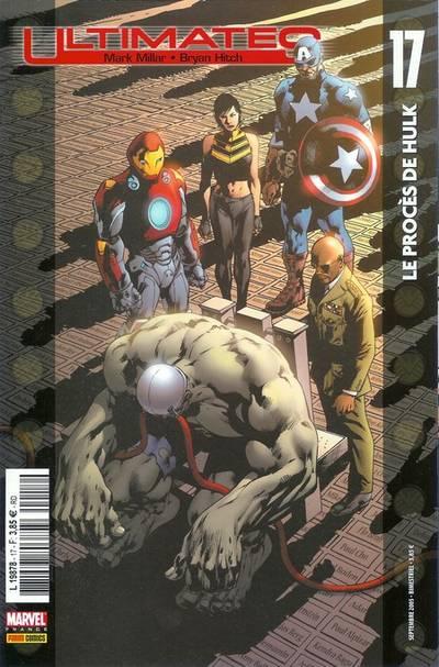Couverture de Ultimates -17- Le procès de Hulk