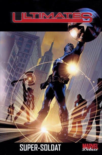 Couverture de Ultimates (Marvel Deluxe) -1- Super-Soldat