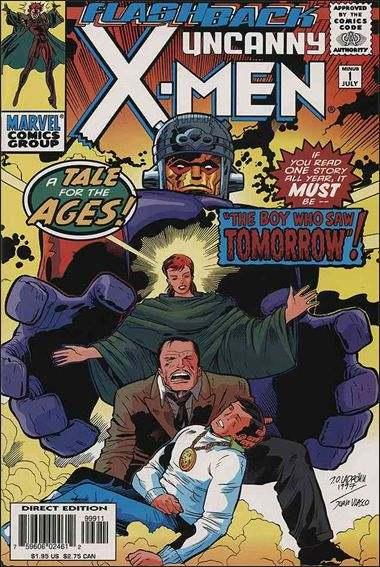 Couverture de Uncanny X-Men (The) (Marvel comics - 1963) -0-1- The boy who saw tomorrow
