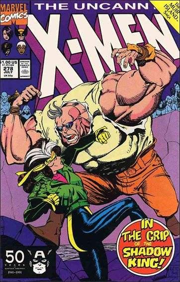 Couverture de Uncanny X-Men (The) (1963) -278- The battle of muir isle