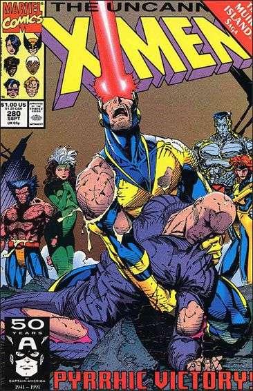 Couverture de Uncanny X-Men (The) (1963) -280- One Step Back... Two Steps Forward