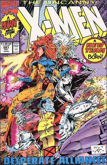 Couverture de Uncanny X-Men (The) (1963) -281- Fresh up start