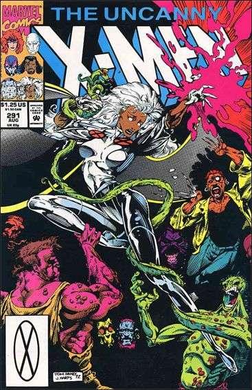 Couverture de Uncanny X-Men (The) (Marvel comics - 1963) -291- Underbelly