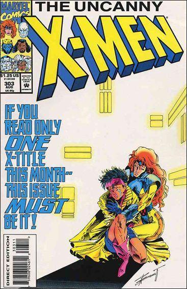 Couverture de Uncanny X-Men (The) (1963) -303- Going through the motion