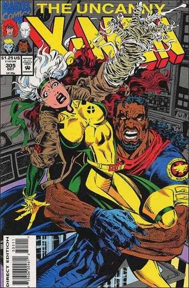 Couverture de Uncanny X-Men (The) (1963) -305- The measure of the man