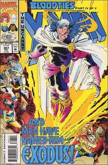 Couverture de Uncanny X-Men (The) (1963) -307- Bloodties part 4 : night and fog