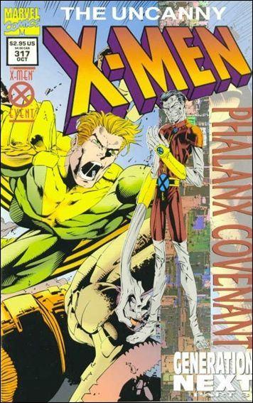 Couverture de Uncanny X-Men (The) (Marvel comics - 1963) -317- Phalanx covenant : generation next part 3