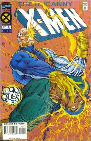 Couverture de Uncanny X-Men (The) (Marvel comics - 1963) -321- Legion quest part 3 : auld lang syne