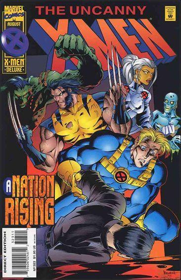 Couverture de Uncanny X-Men (The) (Marvel comics - 1963) -323- A nation rising