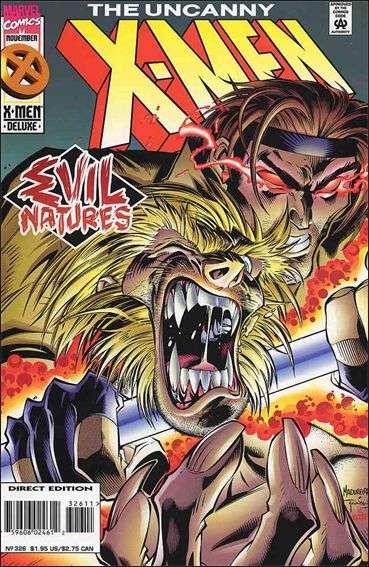 Couverture de Uncanny X-Men (The) (Marvel comics - 1963) -326- Nature of evil