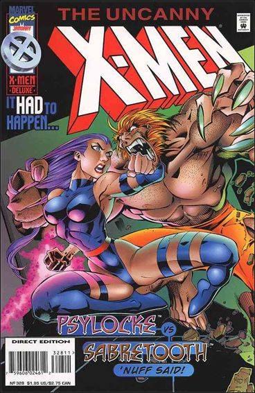 Couverture de Uncanny X-Men (The) (Marvel comics - 1963) -328- Precipice