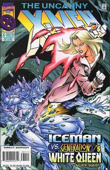 Couverture de Uncanny X-Men (The) (Marvel comics - 1963) -331- The splinter of our discontent