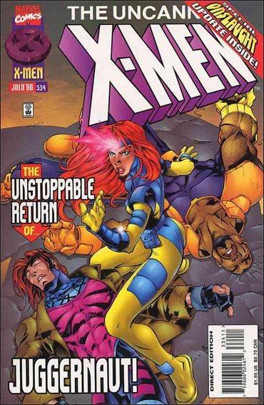 Couverture de Uncanny X-Men (The) (Marvel comics - 1963) -334- Dark horizon