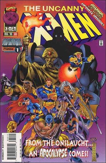 Couverture de Uncanny X-Men (The) (Marvel comics - 1963) -335- Apcalypse lives!