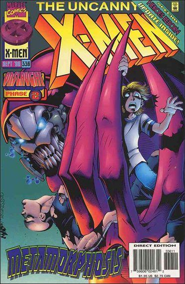 Couverture de Uncanny X-Men (The) (Marvel comics - 1963) -336- A voice as deep as thunder