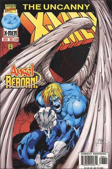 Couverture de Uncanny X-Men (The) (Marvel comics - 1963) -338- A hope reborn a past reclaimed