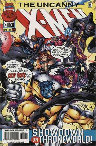 Couverture de Uncanny X-Men (The) (1963) -344- Casualties of war