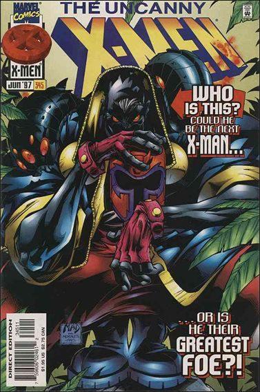 Couverture de Uncanny X-Men (The) (Marvel comics - 1963) -345- Moving on