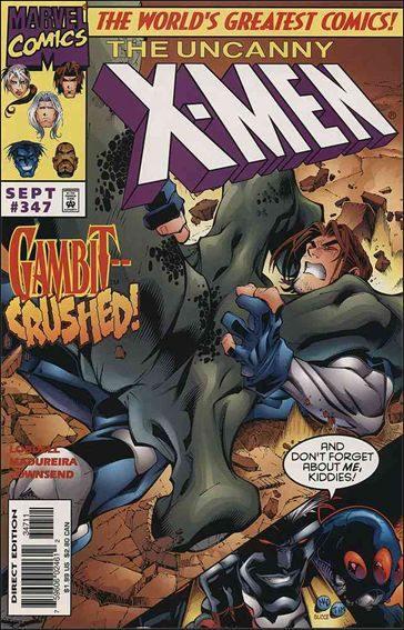Couverture de Uncanny X-Men (The) (1963) -347- Big night
