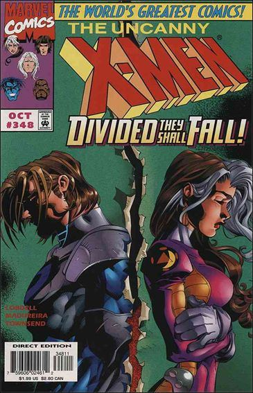 Couverture de Uncanny X-Men (The) (1963) -348- Because i said so
