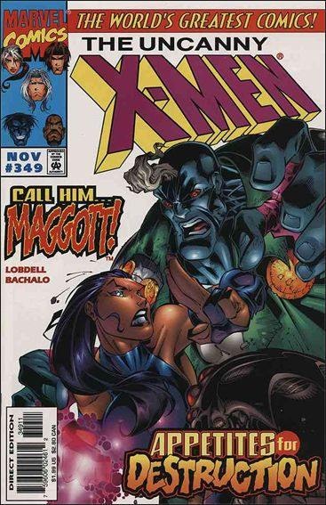Couverture de Uncanny X-Men (The) (1963) -349- The crawl