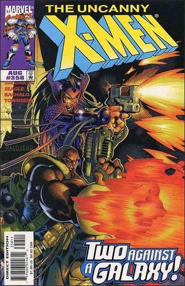 Couverture de Uncanny X-Men (The) (Marvel comics - 1963) -358- Lost in space