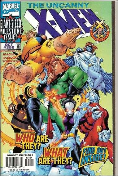 Couverture de Uncanny X-Men (The) (Marvel comics - 1963) -360- Children of the atom