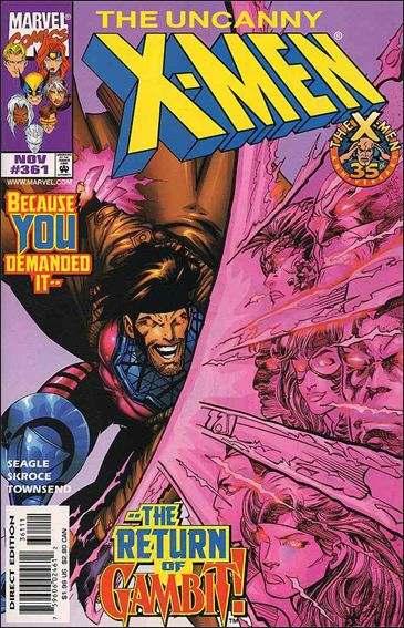 Couverture de Uncanny X-Men (The) (Marvel comics - 1963) -361- Thieves in the temple