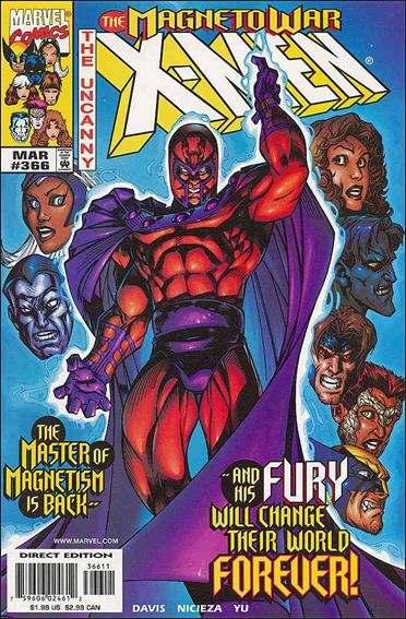 Couverture de Uncanny X-Men (The) (1963) -366- The shot heard around the world