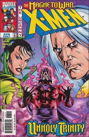 Couverture de Uncanny X-Men (The) (1963) -367- Disturbing behavior