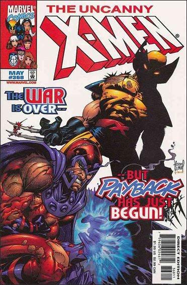 Couverture de Uncanny X-Men (The) (1963) -368- Mansions in heaven