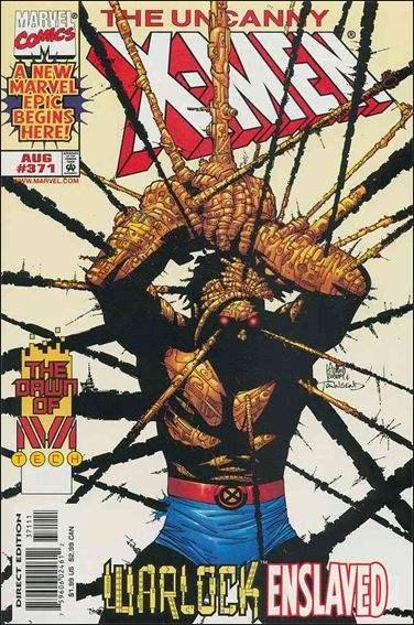 Couverture de Uncanny X-Men (The) (1963) -371- Rage against the machine part 1 : crossed wires