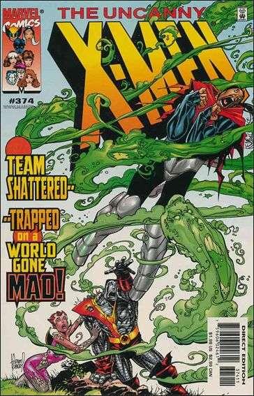 Couverture de Uncanny X-Men (The) (Marvel comics - 1963) -374- Beauty & the beast part 2 : you can't go home again