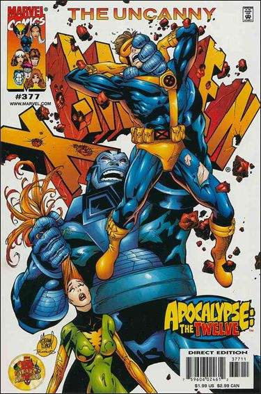 Couverture de Uncanny X-Men (The) (1963) -377- The end of the world as we know it