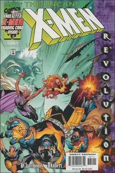Couverture de Uncanny X-Men (The) (1963) -381- Night of masques